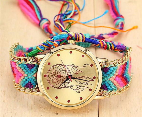 Dreamcatcher Bracelet Quartz Watch