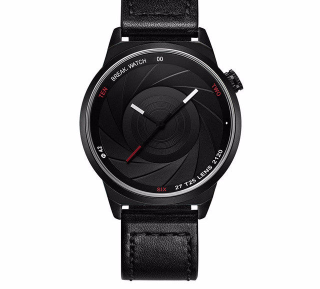 Steel Quartz Black Watch