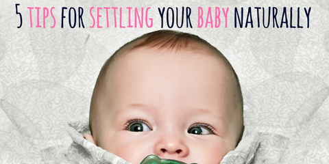 Brauer Eczema - 5 Tips for settling your baby naturally
