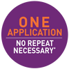 One Application - No Repeat Necessary*