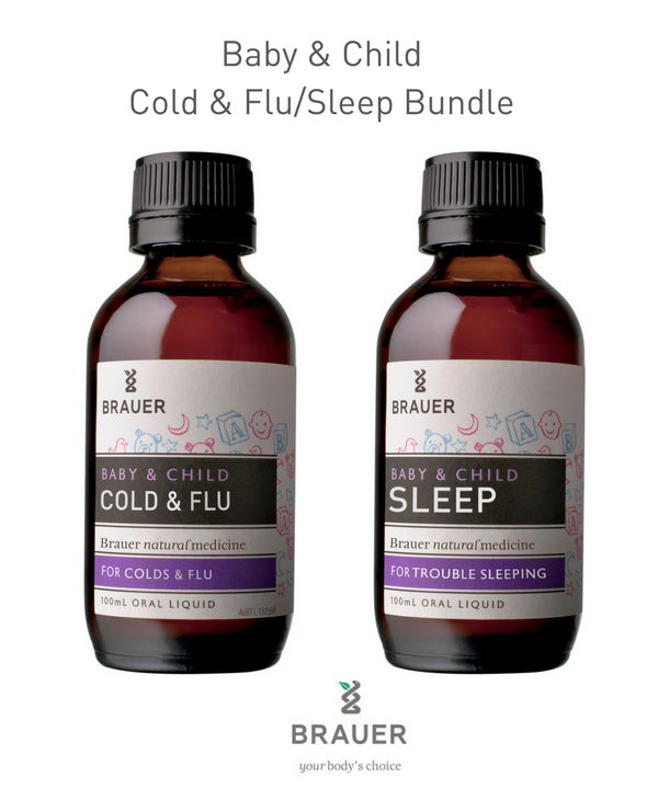 Baby & Child Bundle  -  Cold & Flu and Sleep - Brauer Natural Medicine