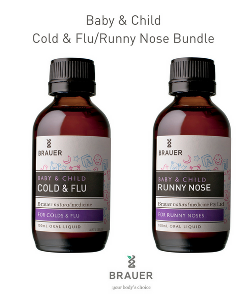 Baby & Child Bundle  -  Cold & Flu and Runny Nose