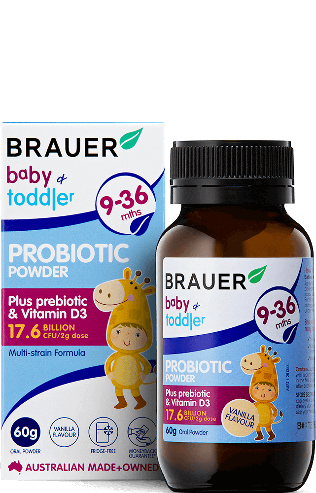 Brauer Baby & Toddler Probiotic Powder