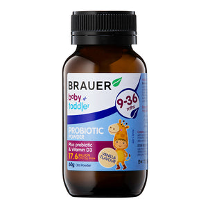 Brauer Baby & Toddler Probiotic Powder - Brauer Natural Medicine