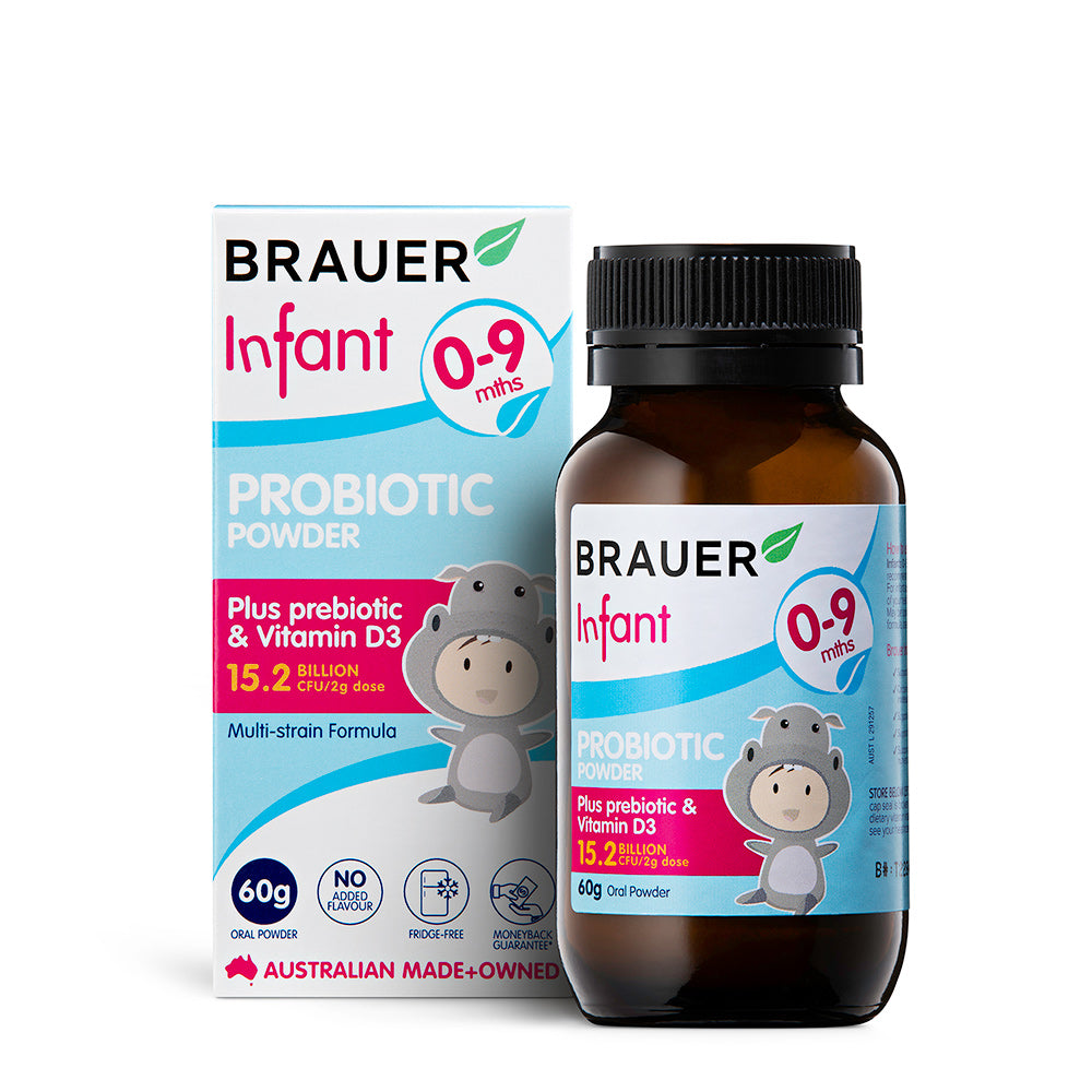 Brauer Infant Probiotic Powder - Brauer Natural Medicine
