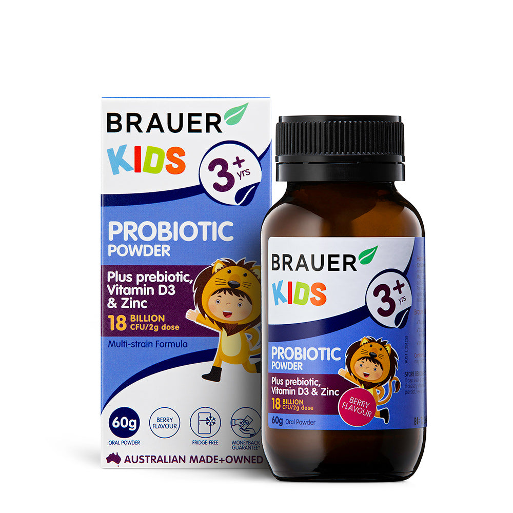 Brauer Kids Probiotic Powder - Brauer Natural Medicine