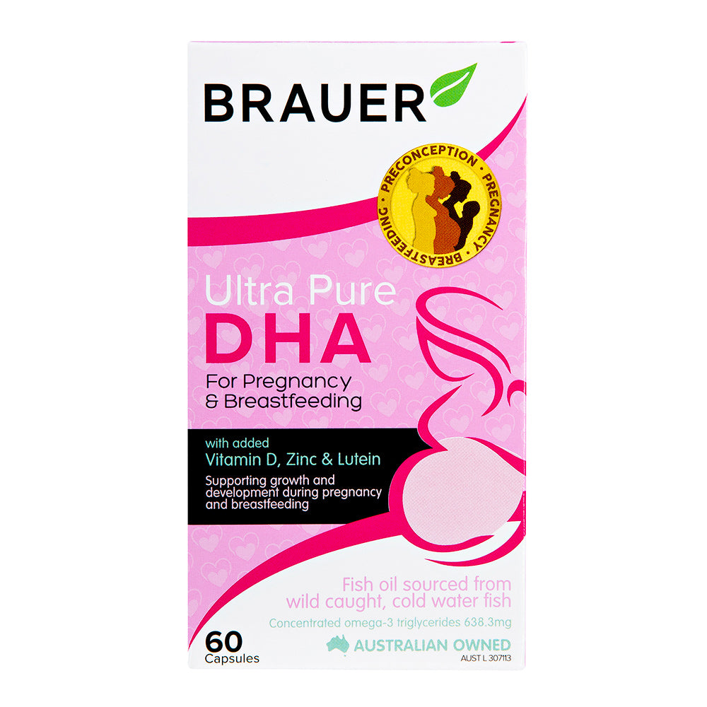 Brauer Ultra Pure DHA for Pregnancy & Breastfeeding - Brauer Natural Medicine