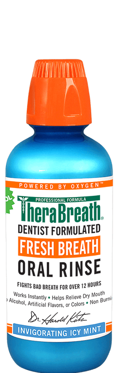 TheraBreath Oral Rinse - Icy Mint