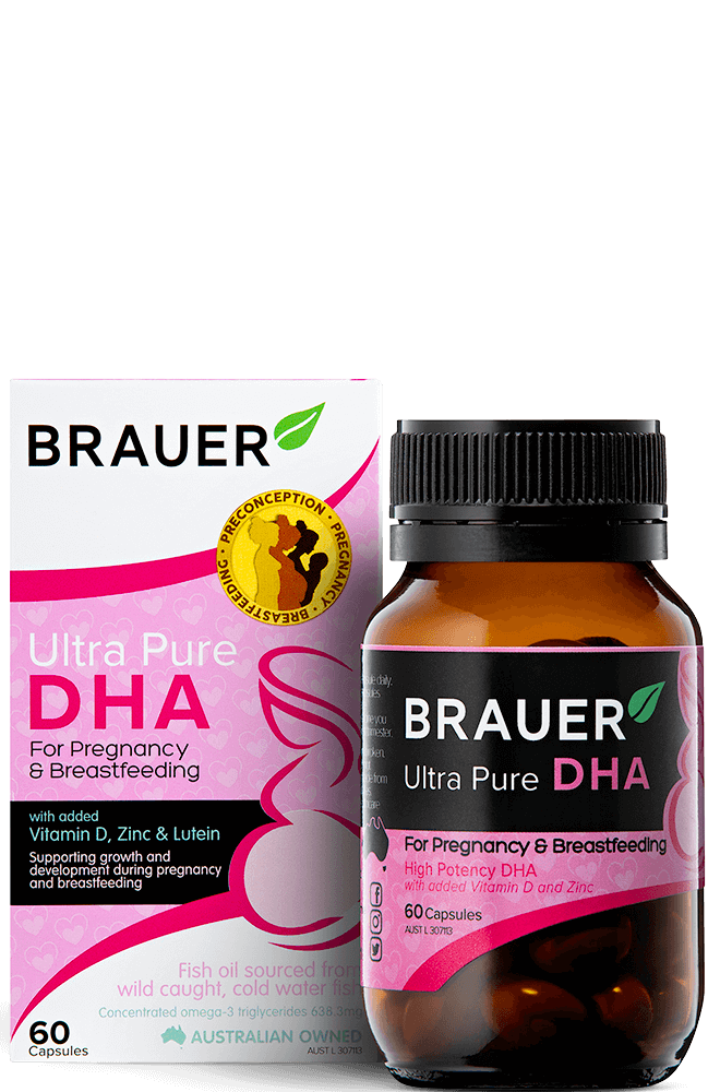 Brauer Ultra Pure DHA for Pregnancy & Breastfeeding