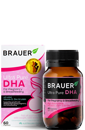 Load image into Gallery viewer, Brauer Ultra Pure DHA for Pregnancy & Breastfeeding