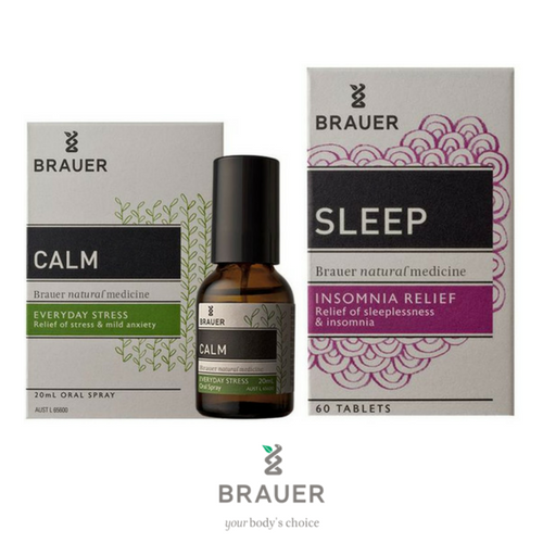 Sleep & Calm Bundle Buy - Brauer Natural Medicine