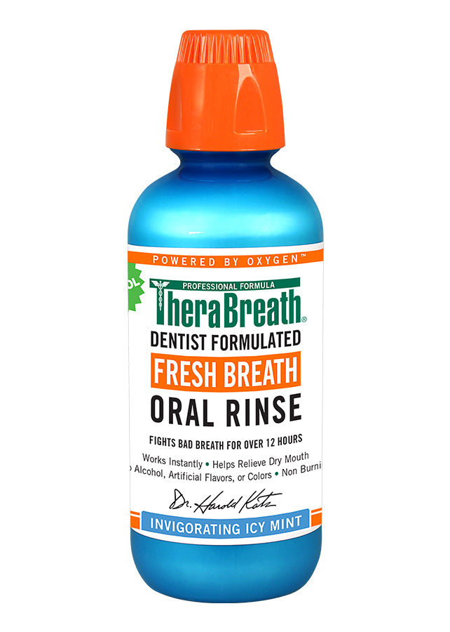 TheraBreath Oral Rinse - Icy Mint - Brauer Natural Medicine