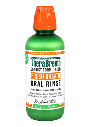 Load image into Gallery viewer, TheraBreath Oral Rinse - Mild Mint - Brauer Natural Medicine