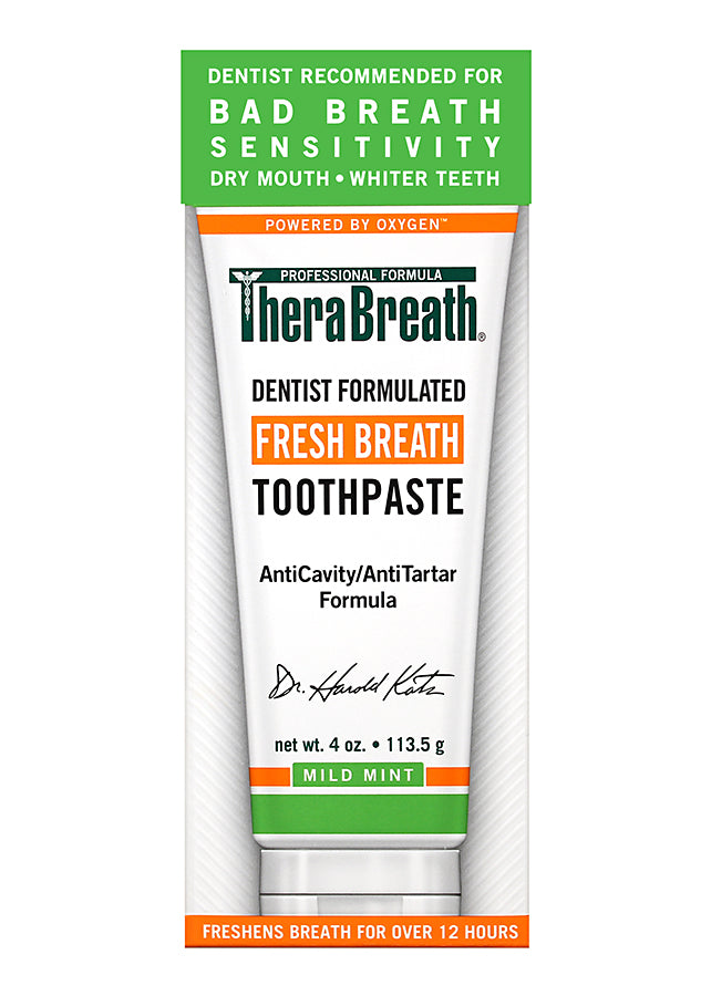 TheraBreath Toothpaste - Brauer Natural Medicine