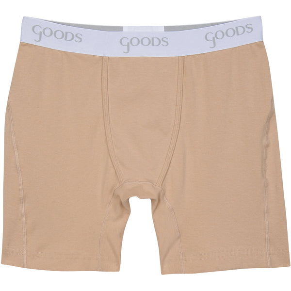 goods boxer brief underwear earth tones