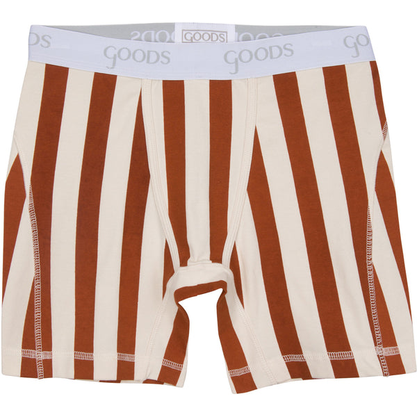 goods underwear, boxer brief, stripes