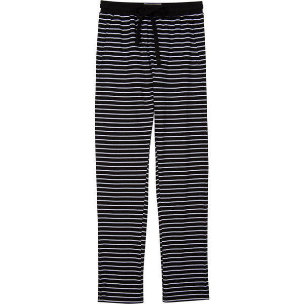 Goods Pajamas, Pajama pant in black stripe pyjama