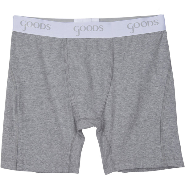 goods boxer brief underwear classsic grey