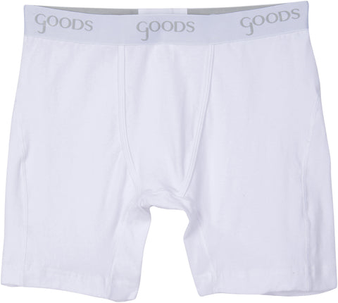 Goods Underwear G13 boxer brief in classic white