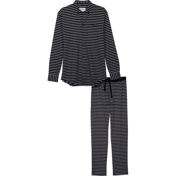 Goods Pajamas: Pajama Top in Black