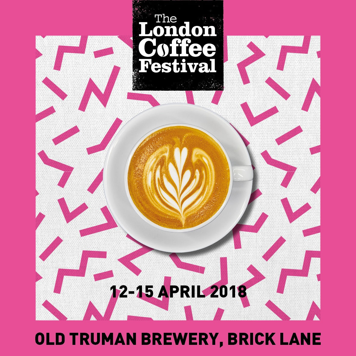 We will be at the London Coffee Festival again