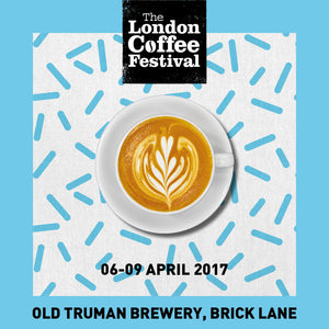 Visit us at the London Coffee Festival between 6 and 9 April