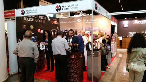 Grandstores stand at the 2nd International Dubai Coffee and Tea Festival