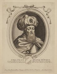 Suleiman Aga, Sultan's ambassador to France in 1669