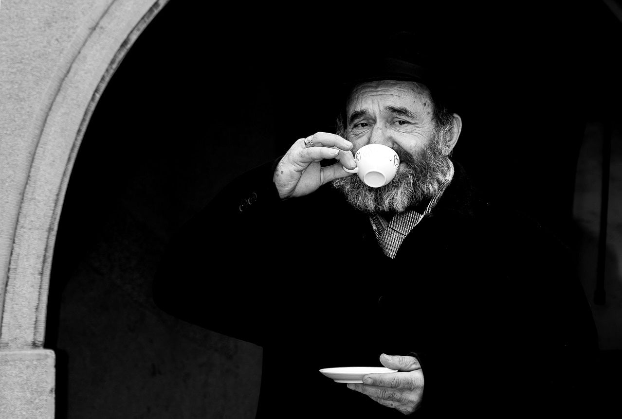Image result for turkish coffee black and white