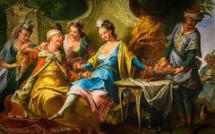 Turquerie, A fashion for Turkish art and culture in the a7the and 18th century France