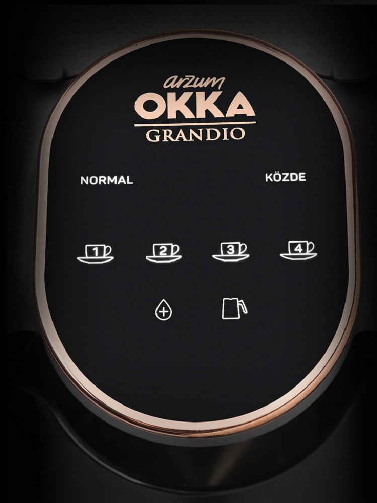 Okka Grandio automatic Turkish coffee machine