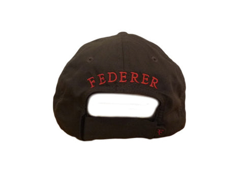 Brown/red 'RF' cap, autographed