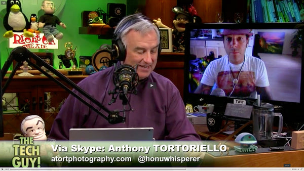 Live On The Tech Guy Show With Leo Laporte Atort Photography
