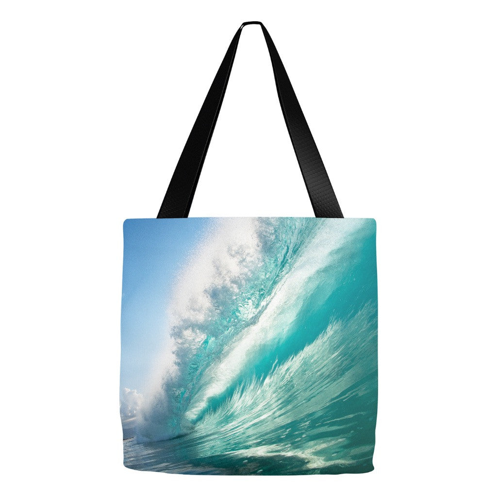 """Emerald Dreams"" Conscious 16""x16"" Tote"