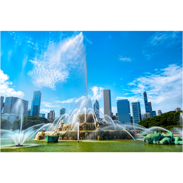 Chicago Buckingham Fountain Summer