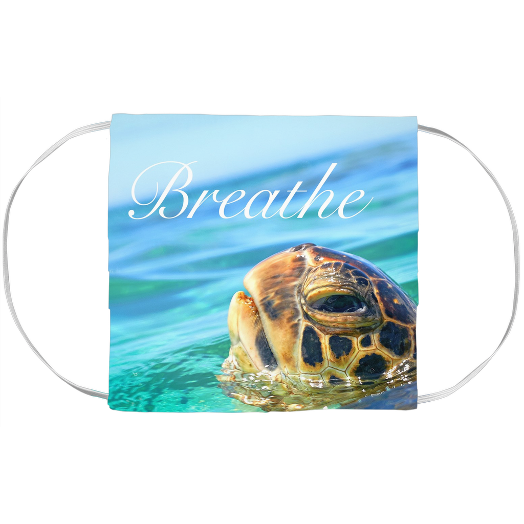"Honu ""Breathe"" Face Mask Covers"