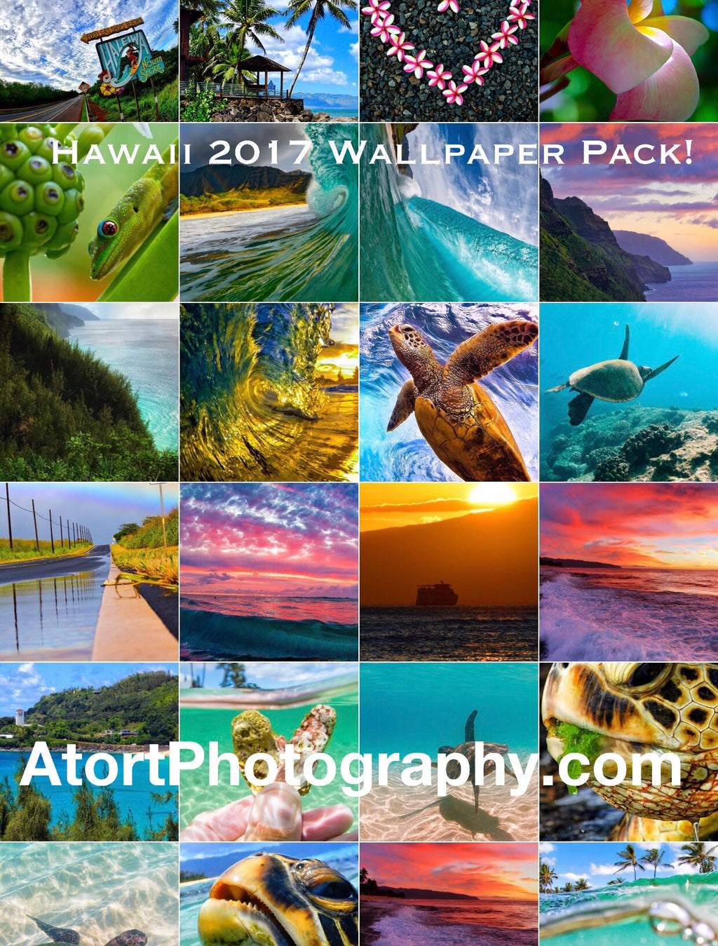 Hawaii Bliss iPhone Wallpaper Pack 2017