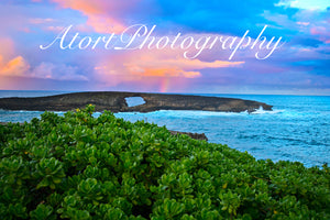 """Laie Point Shave Ice Sunset"""