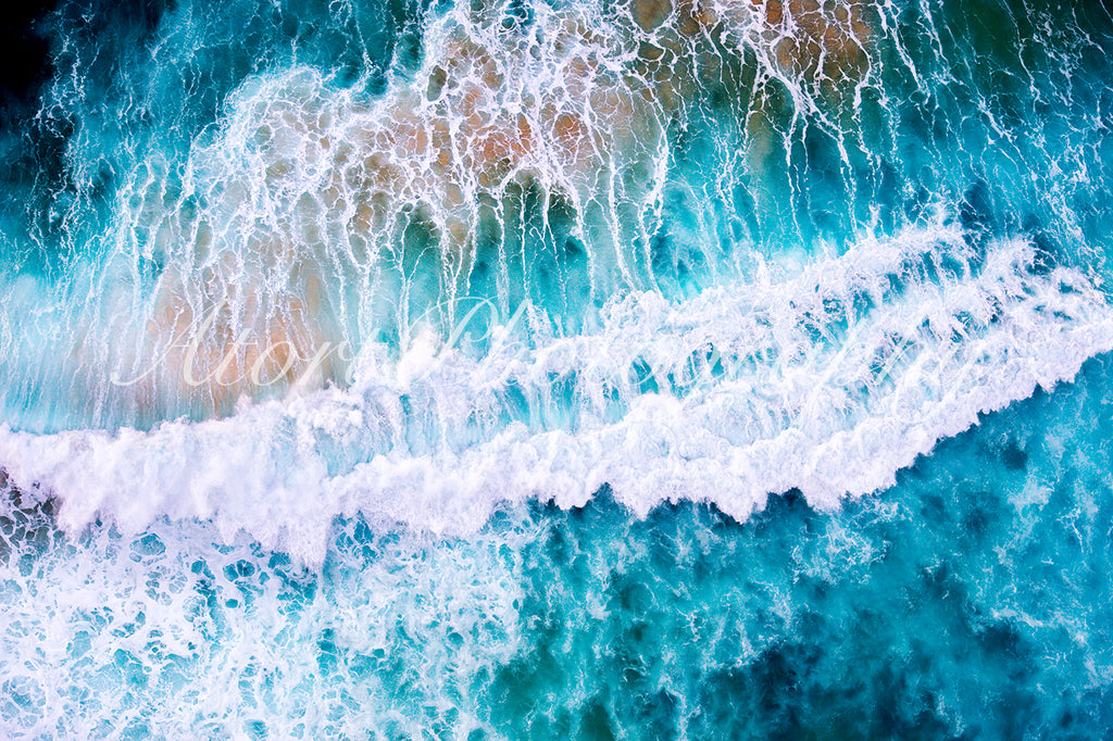 """Ocean Aerial Abstract"""