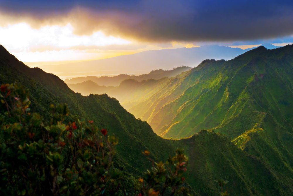 Stairway To Paradise by Anthony Tortoriello. Hawaiian landscape photography