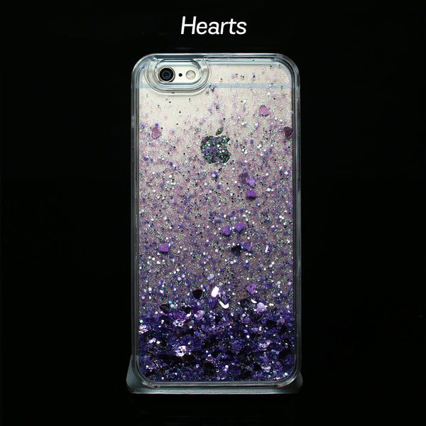 Purple Liquid Glitter - Phone Cases