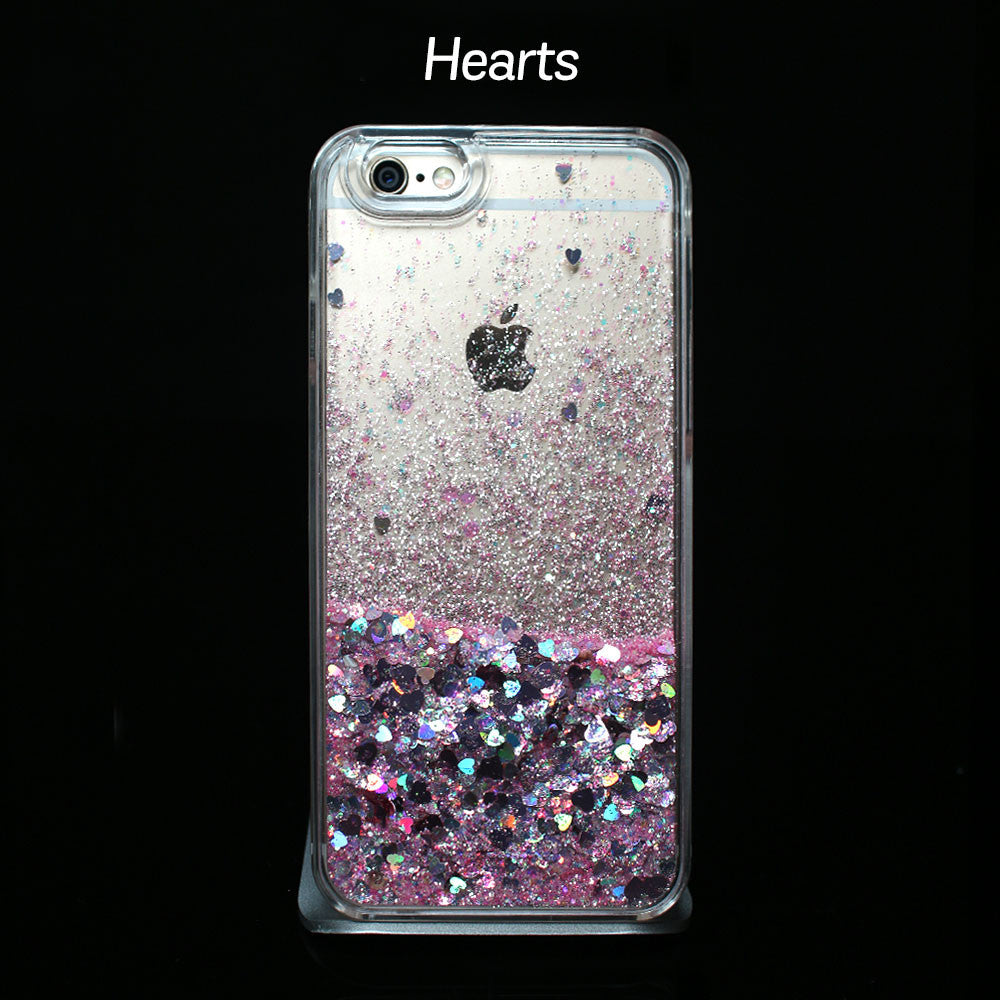 Pink Liquid Glitter - Phone Case