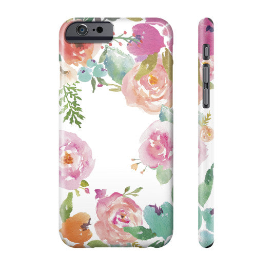 Hello Beautiful Floral Phone Case  Grandwall