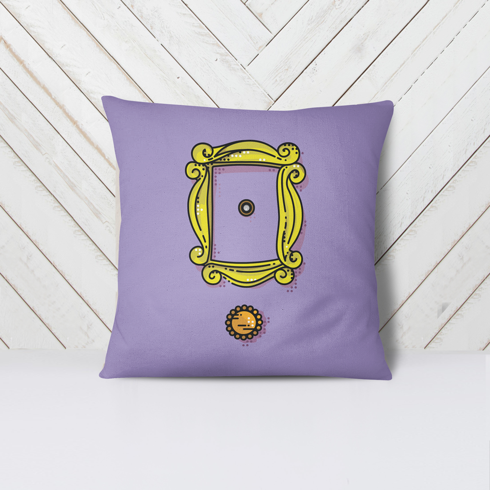 Pop Art Peephole - Pillow