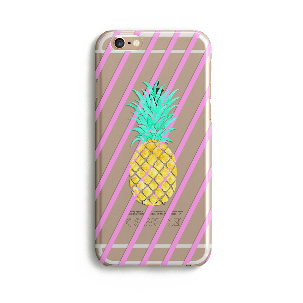 Clear Pineapple Case