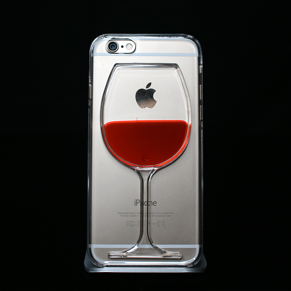 Red Wine Liquid Phone Case