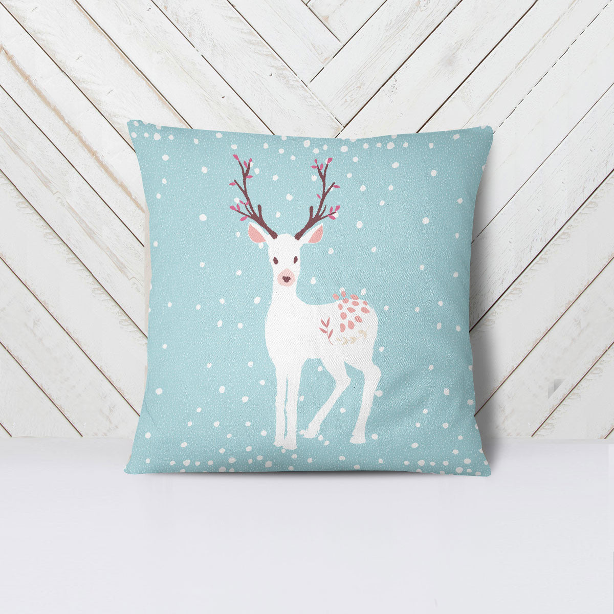 Winter Stag Pillow