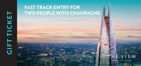 Fast Track Entry and Champagne for 2
