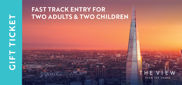 Fast Track Entry for 2 Adults & 2 Children