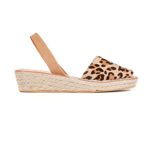 ESPADRILLE LOW WEDGE - CHITARA/TAN